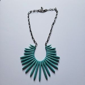 Jewelry - Faux Turquoise Bold Boho Statement Necklace